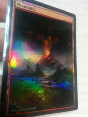 Mountain #01.1 Foil Extended