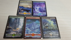 Full Set of Snow Lands