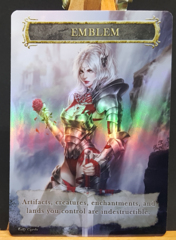 Foil Emblem for Elspeth Knight Errant #1