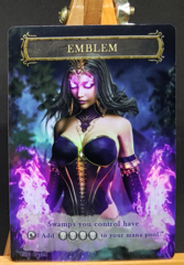 Foil Emblem for Liliana of the Dark Realms #1