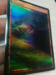 Mountain #04.2 Foil Extended