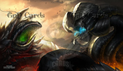Wurmcoil's Wurms Playmat