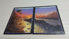 2x Islands #01 Non-Foil Panorama