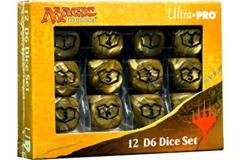 Ultra Pro - MTG: Ixalan 12ct. D6 Dice Set