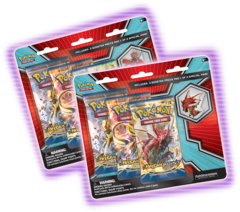 Mega Scizor and Shiny Mega Gyarados Pin Blister Pack