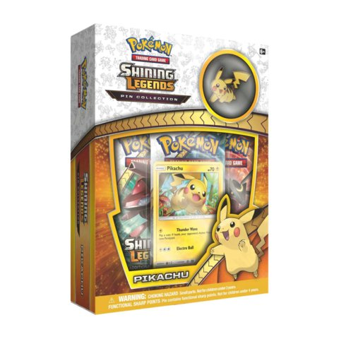 Shining Legends Pin Collection - Pikachu