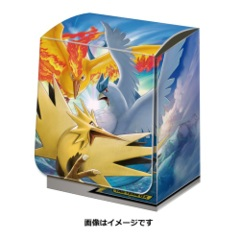 Deck Box - Fire & Thunder & Freezer TAG TEAM GX (Moltres & Zapdos & Articuno)