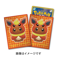 Sleeves 64ct - Eevee Poncho - Flareon