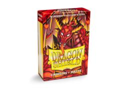 Dragon Shield Japanese-Sized Matte 60ct - Crimson