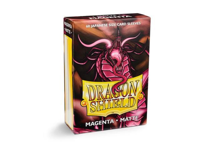 Dragon Shield Japanese-Sized Matte 60ct - Magenta