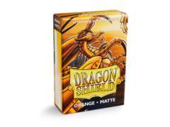 Dragon Shield Sleeves: Japanese Matte Orange (Box Of 60)