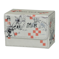 Flip Deck Box - Pokemon Caricature