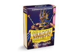 Dragon Shield Japanese-Sized Matte 60ct - Purple