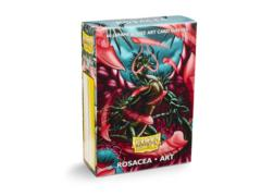 Dragon Shield Japanese-Sized Art 60ct - Rosacea