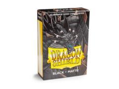 Dragon Shield Japanese-Sized Matte 60ct - Black