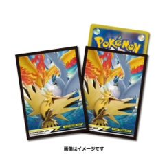 Sleeves 64ct - Fire & Thunder & Freezer TAG TEAM GX (Moltres & Zapdos & Articuno)
