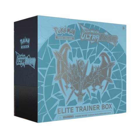 SM Ultra Prism Elite Trainer Box - Dawn Wings Necrozma