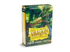 Dragon Shield Matte - Japanese size - Apple Green - 60 ct