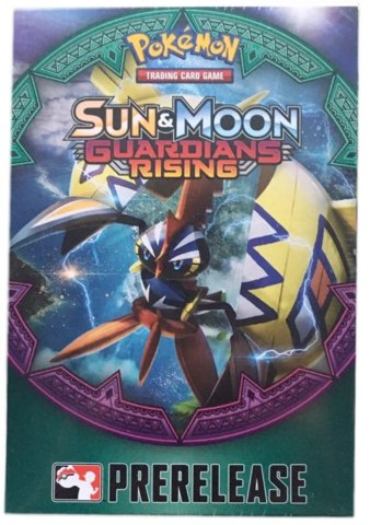 Pokemon Sun & Moon Guardians Rising Pre-Release Kit
