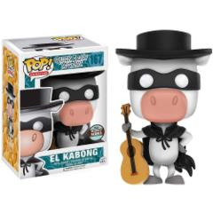 Funko Specialty Series Pop! Hanna Barbera Quick Draw Mcgraw: El Kabong Vinyl Figure