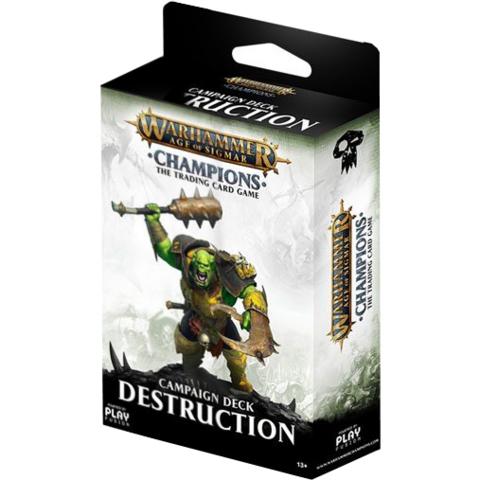 Warhammer AOS Champions Campaign Deck - Destruction