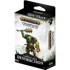 Warhammer AOS Champions Campaign Deck - Destruction