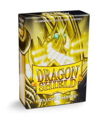 Dragon Shield Japanese-Sized Matte 60ct - Yellow