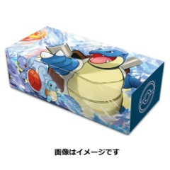 Card Storage Box - Genealogy of Evolution Kamex (Blastoise)