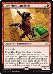 Dire Fleet Daredevil - Foil - Prerelease Promo
