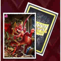 Dragon Shield Sleeves: Valentine Dragon (Box of 100)