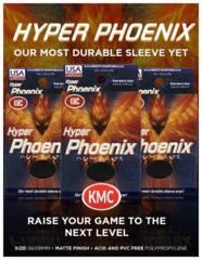KMC Sleeves Hyper Phoenix Black