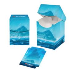 Ultra Pro - MTG Deck Box Pro 100+ Unstable Lands - Island