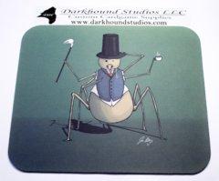Gentleman Spider Mousepad