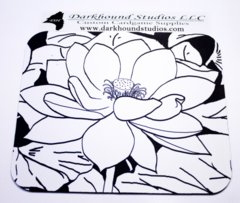 Lotus Mousepad Color Your Own