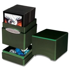 Ultra Pro Radiant Amber Moss Satin Tower Deck Box