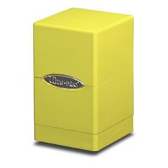 Ultra Pro Yellow Satin Tower Deck Box