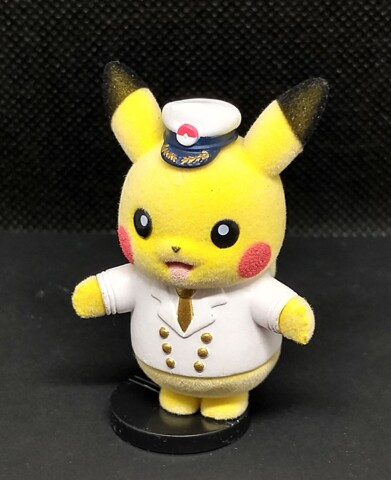 Captain Pikachu - Pokemofu Doll