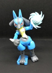 Lucario (with Aura Sphere) - Shodo Series 3 - 1