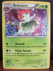 Bellossom - 4/98 - Cosmos Holo - Legacy Evolution Pin Collection