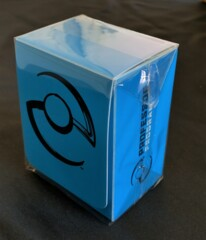 Pokemon Professor Deckbox (Blue)