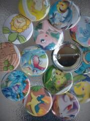 Johto Grab Bag - 5 button assortment