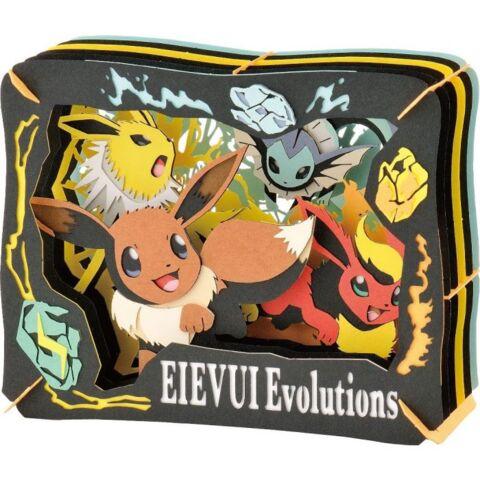 Eevee Evolutions Paper Theater