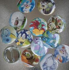 Galar Grab Bag - 20 button assortment