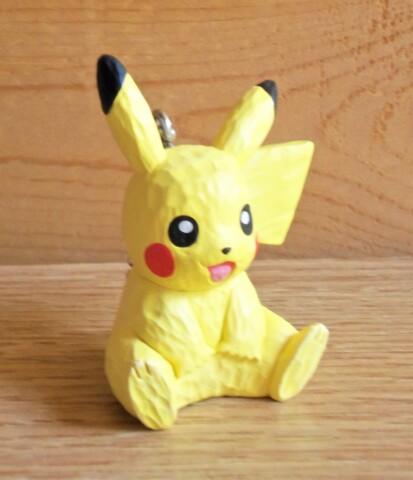 Pikachu - Wood Sculpture