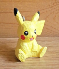 Pikachu - Wood Sculpture