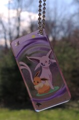 Eevee and Espeon