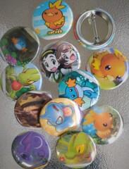 Hoenn Grab Bag - 10 button assortment