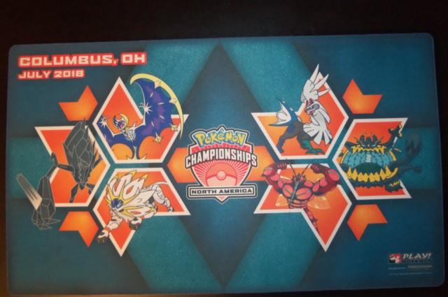 2018 North American International Championships NAIC Columbus Play Mat
