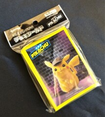 Detective Pikachu Pokemon Card Sleeves (Japanese)