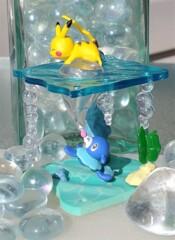 Pikachu and Popplio - Shining Sea - 1